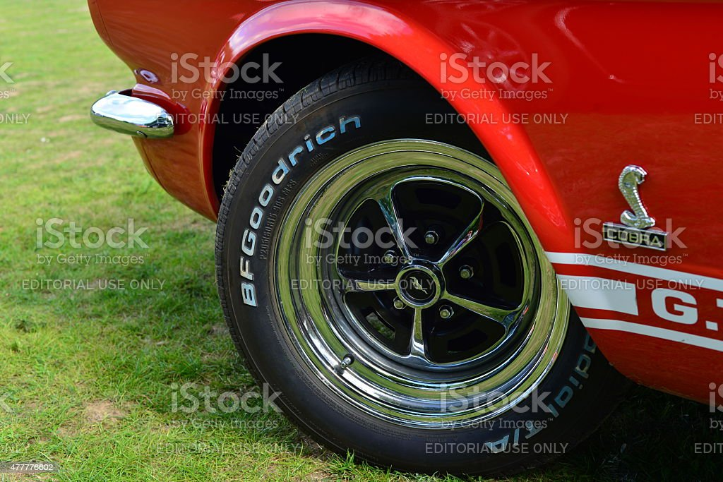 Ford Mustang Shelby GT500 Cobra. stock photo