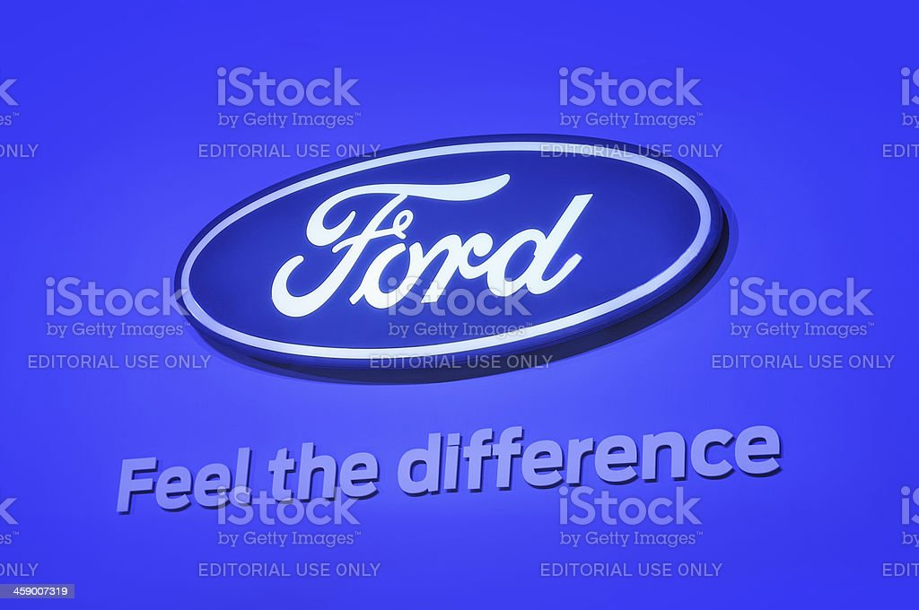 Ford royalty-free stock photo