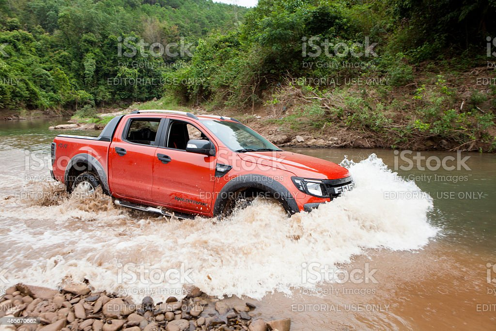 Ford Ranger Wildtrak 3.2L stock photo