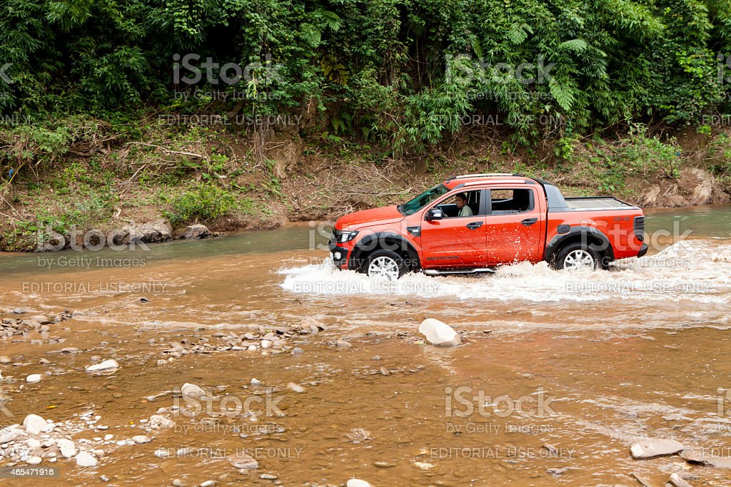 Ford Ranger Wildtrak stock photo