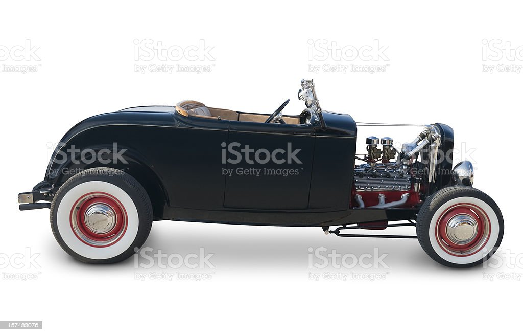 Ford Roadster from 1932 stock photo