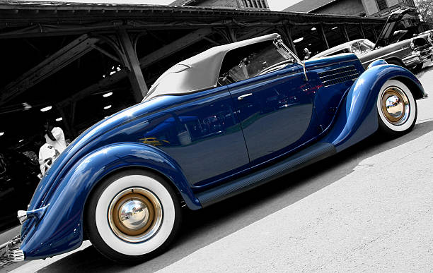 ford roadster (1935 - 1934 photos et images de collection