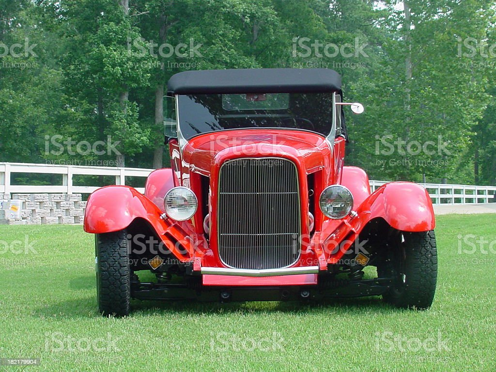 Ford Roadster Street Rod stock photo