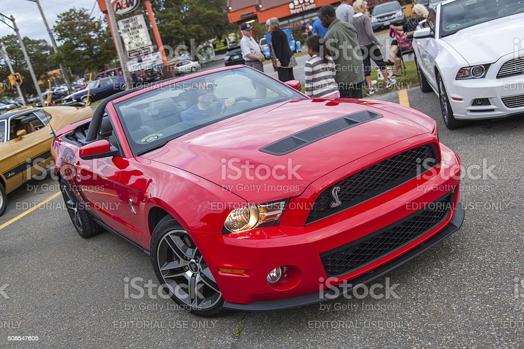 Ford Shelby GT500 Convertible stock photo
