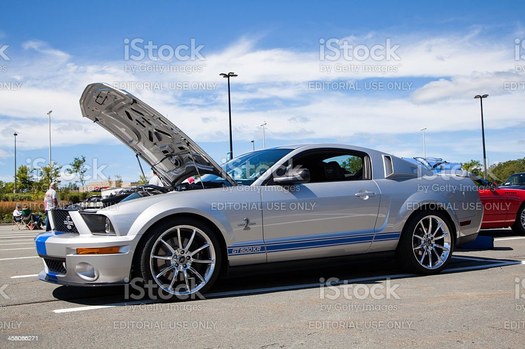 Ford Shelby GT500KR stock photo