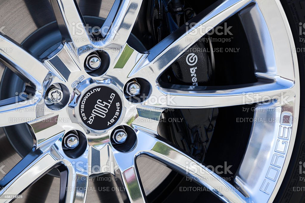 Ford Shelby GT500KR Wheel stock photo