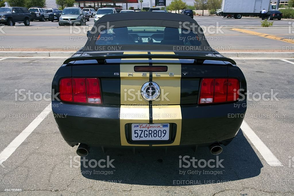 Ford Shelby Mustang GT-H stock photo