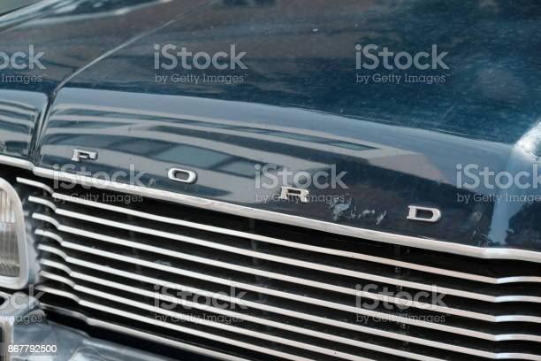 Ford sign on vintage car picture id867792500?b=1&k=6&m=867792500&s=612x612&h=e4kg orwjktmuxmklqja16cfl2pwpfxbgukv6ddjzj4=