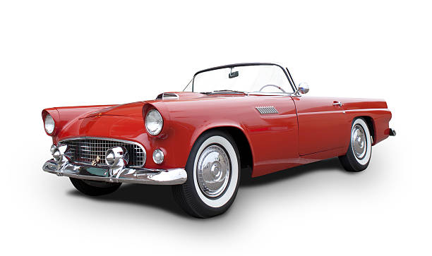 ford thunderbird - classic cars stock photos and pictures