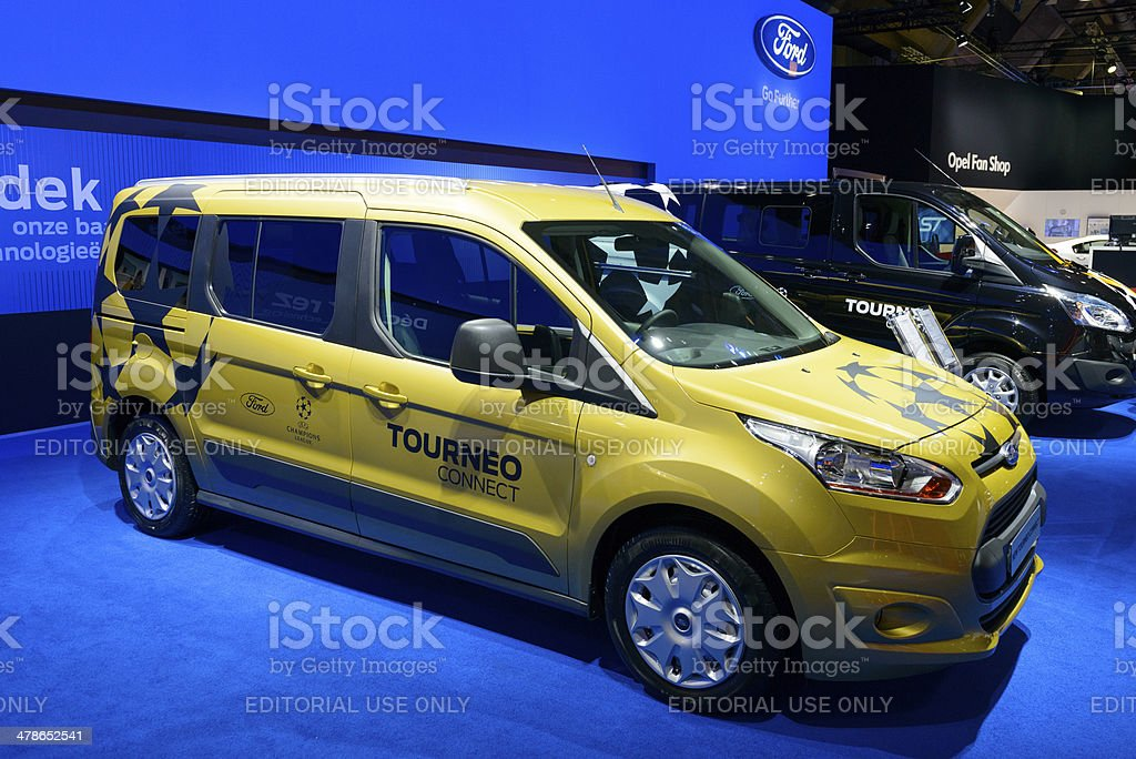 Ford Tourneo Connect royalty-free stock photo