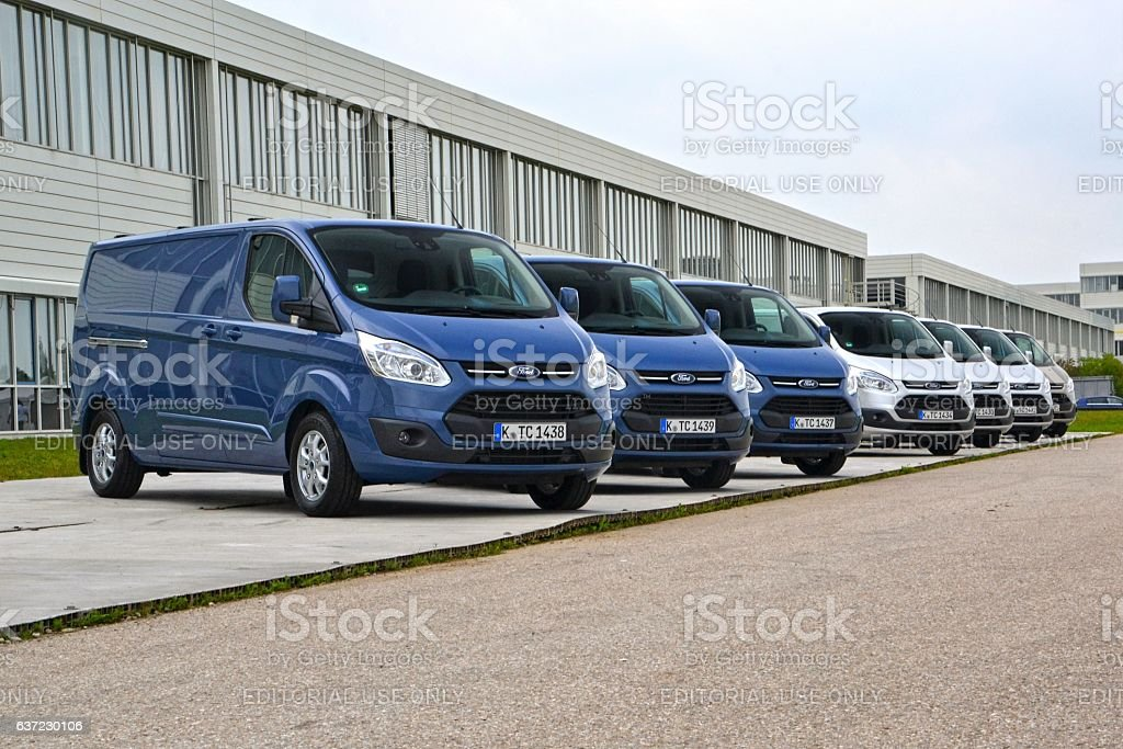 Ford Transit Custom vehicles stock photo
