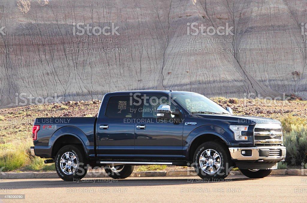 Ford Truck Painted Desert stock photo