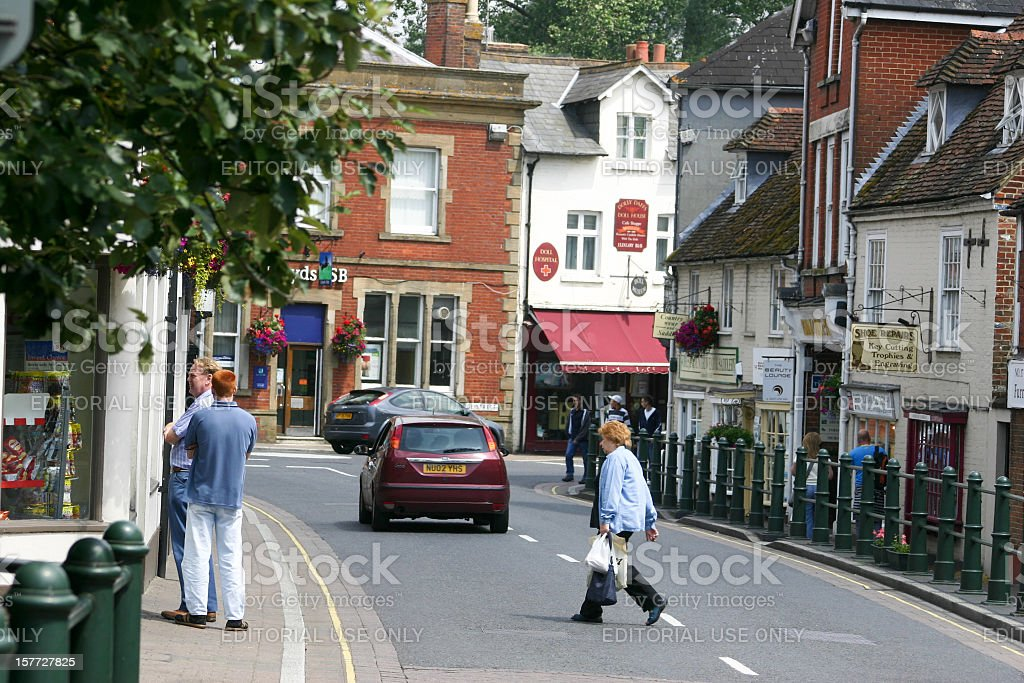 Fordingbridge in the New Forest, England stock photo