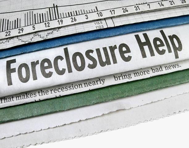 Foreclosure Help stock photo