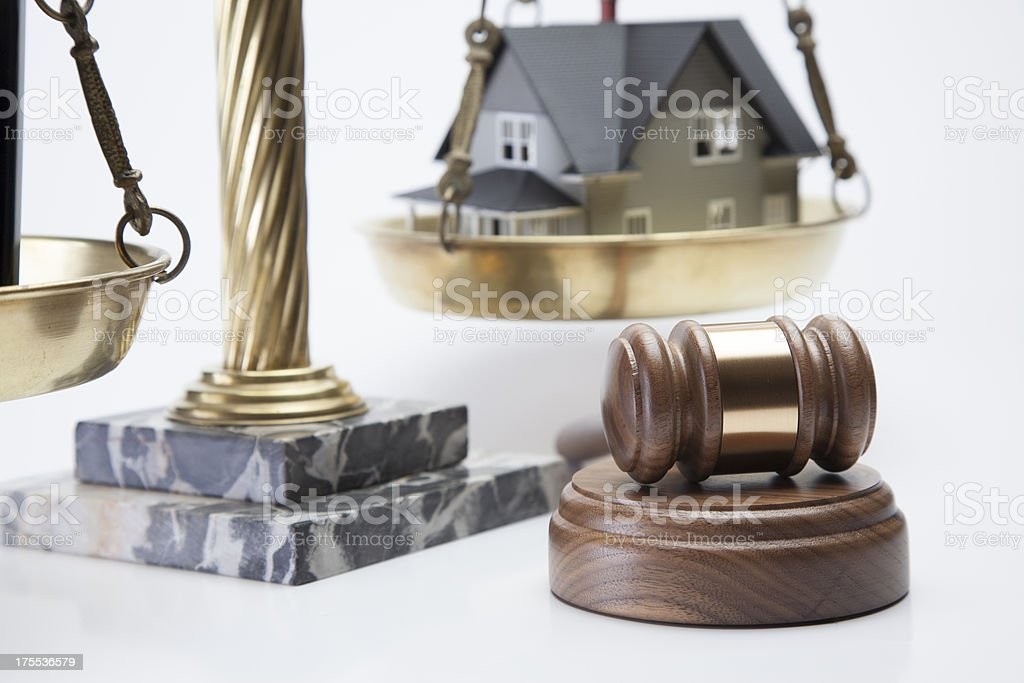 Foreclosure royalty-free stock photo
