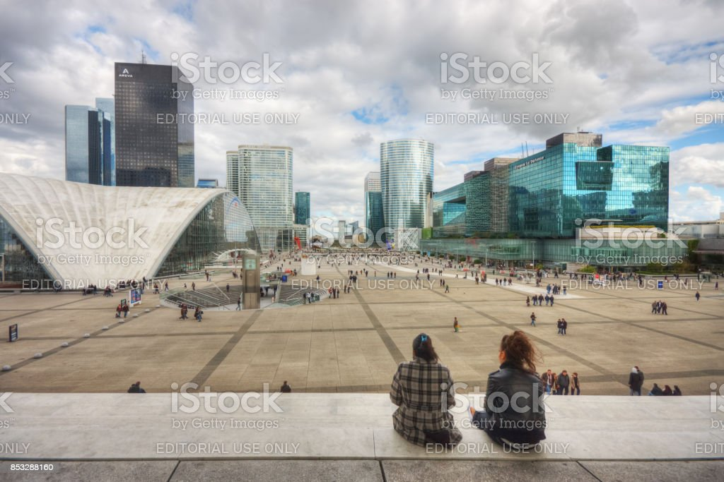 Parvis de La défense - Photo