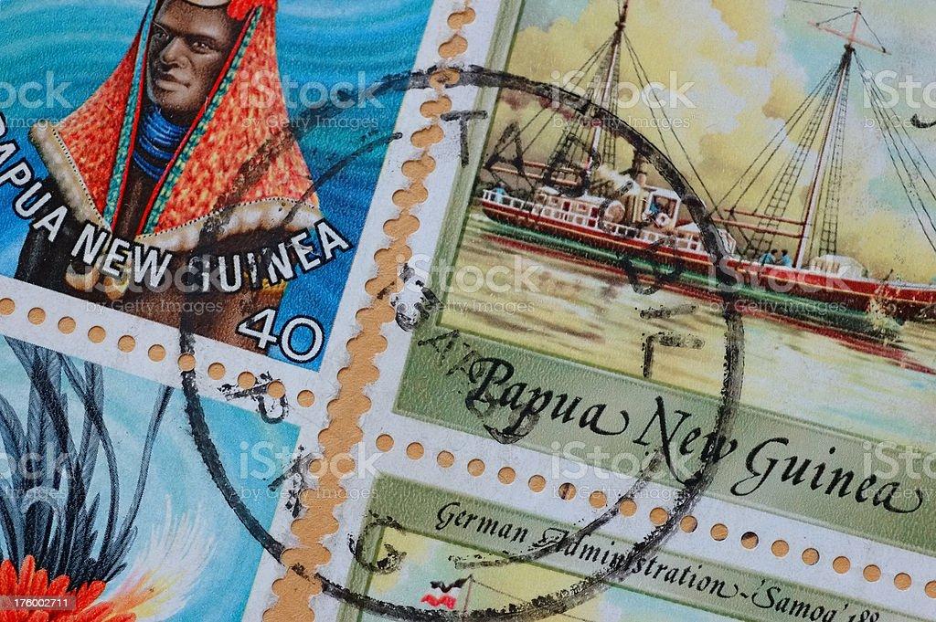 Foreign Correspondent - New Guinea royalty-free stock photo
