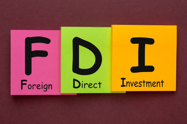 Foreign Direct Investment (FDI) stock photo