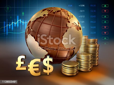 istock Foreign exchange market 1128503491