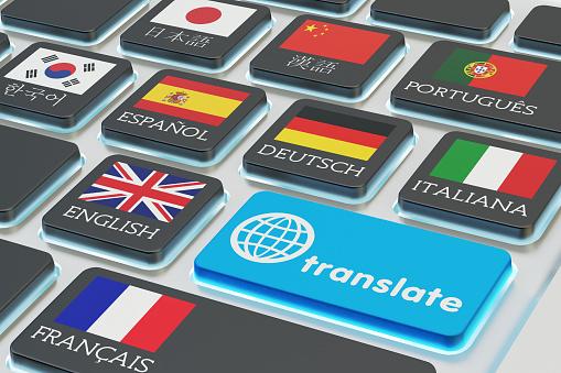 Translator stock photos