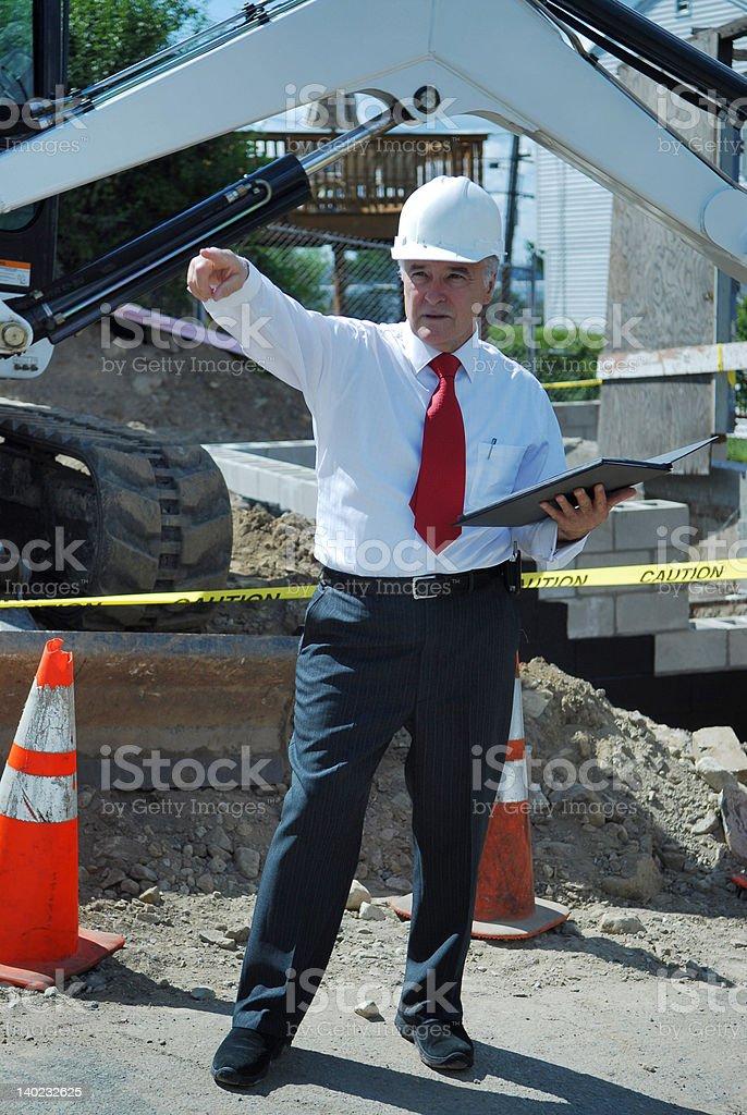 Foreman royalty-free stock photo