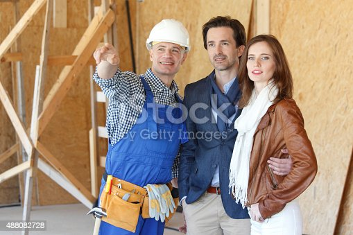 istock foreman shows new house 488082728