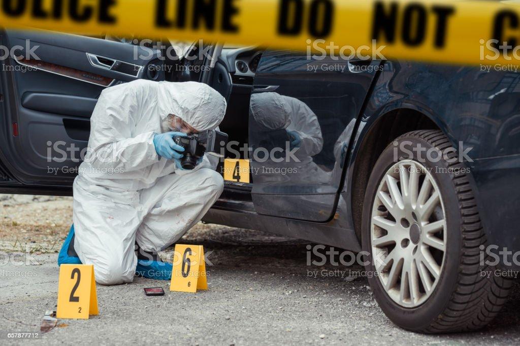 Kriminaltechnik – Foto