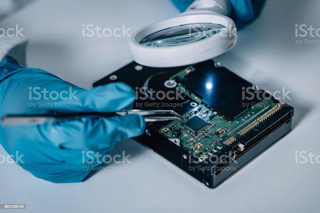 Ciencia forense - Foto de stock de Adulto libre de derechos