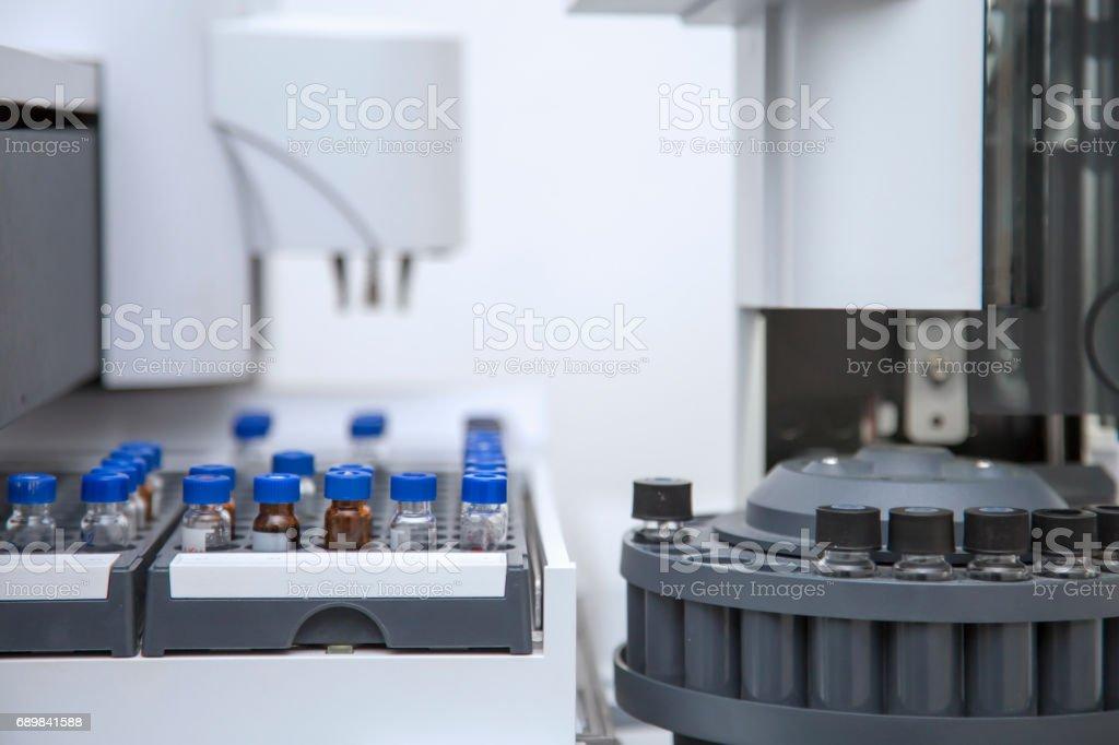 Forensics Analysis Gas Chromatography 2 Stock Photo