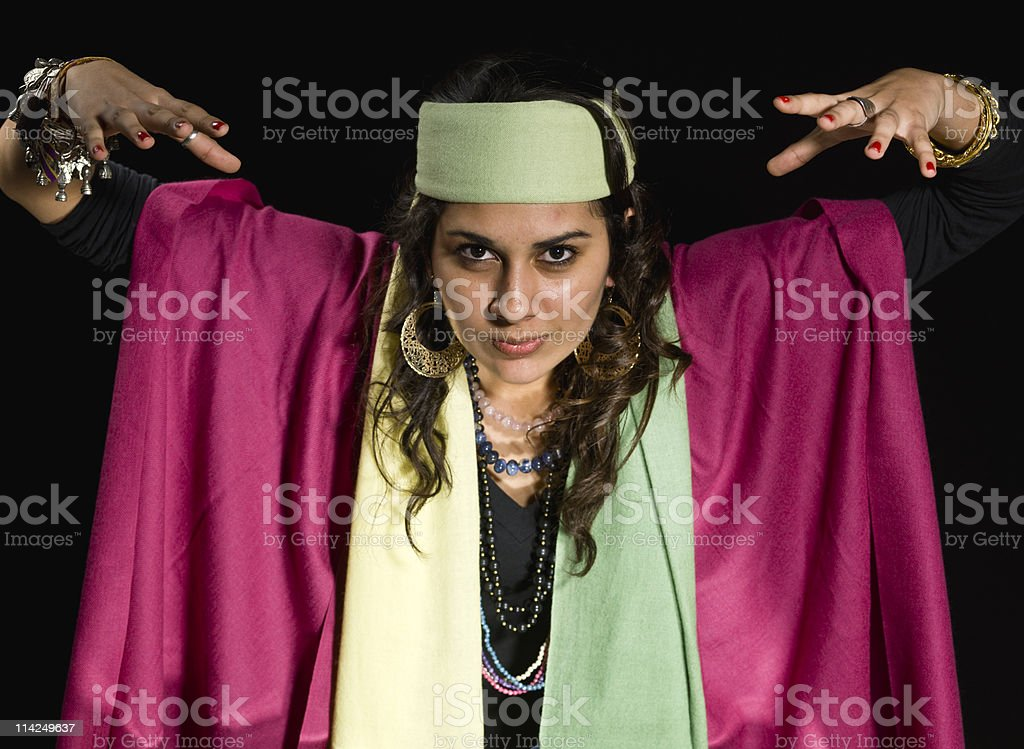 Clairvoyance royalty-free stock photo