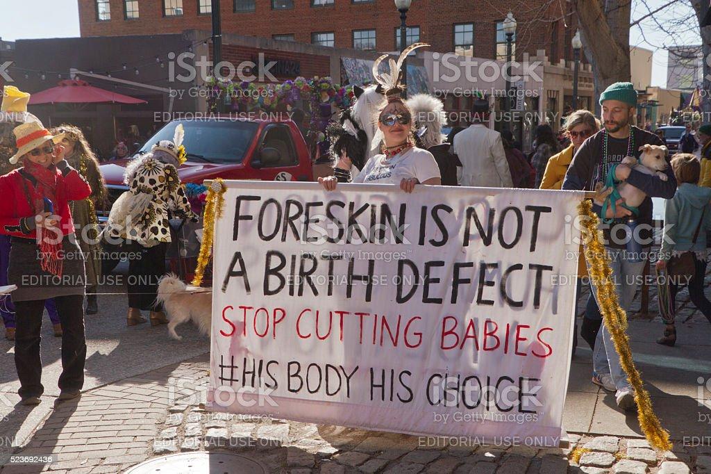 Vorhaut ist kein Geburt defekt – Foto