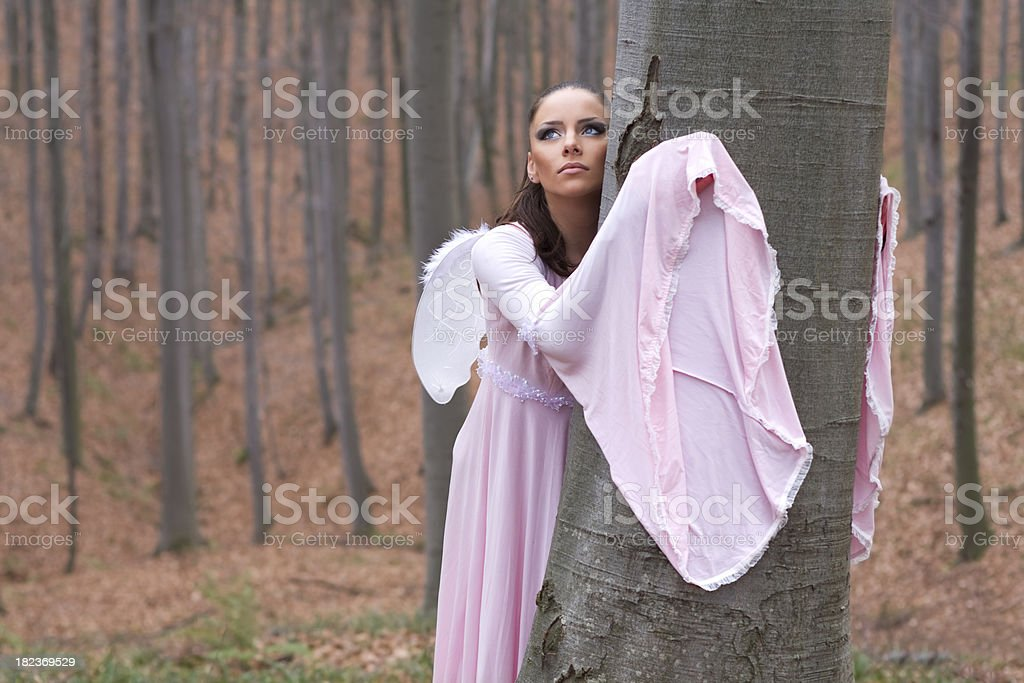 Forest fairy royalty-free stock photo