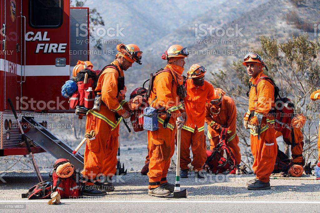 Forest Fire - Camarillo Springs, California 5-2-2013 foto