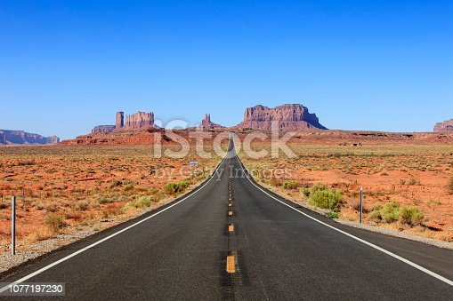 Forest Gump Point at Monument Valley