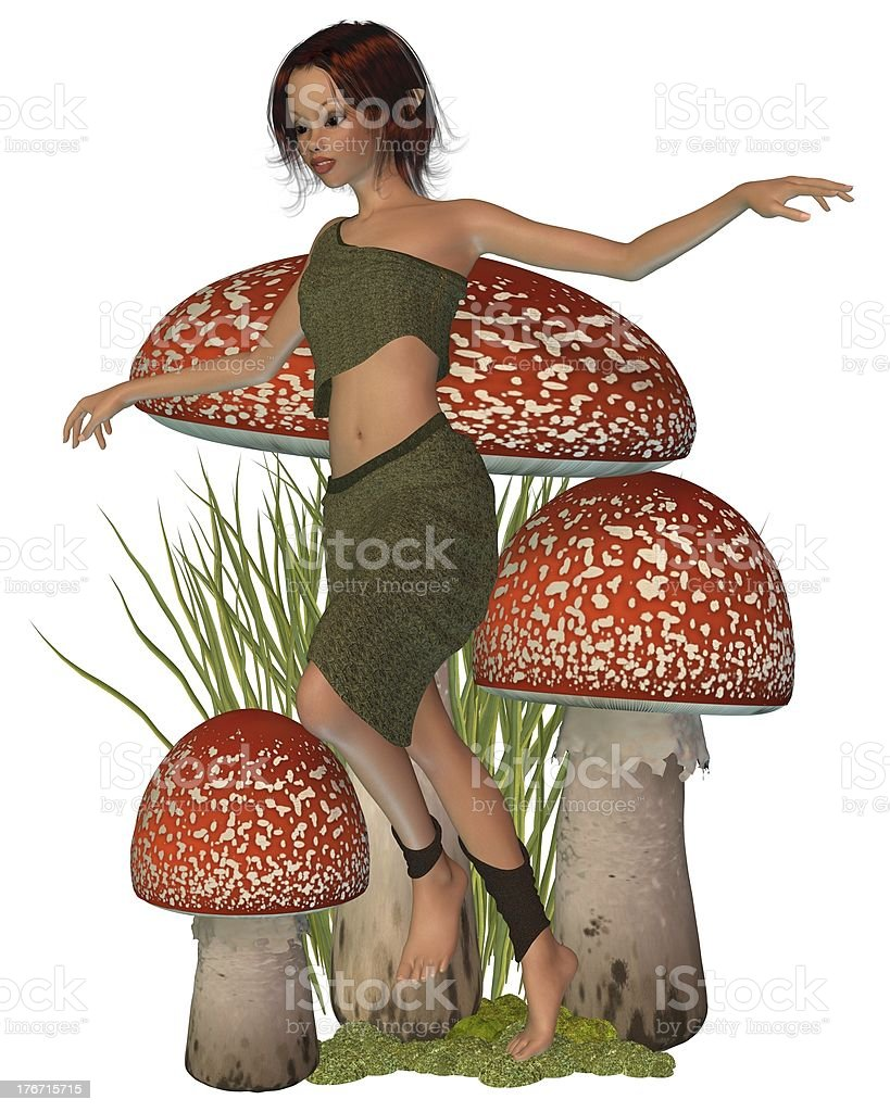 Forest Pixie royalty-free stock photo