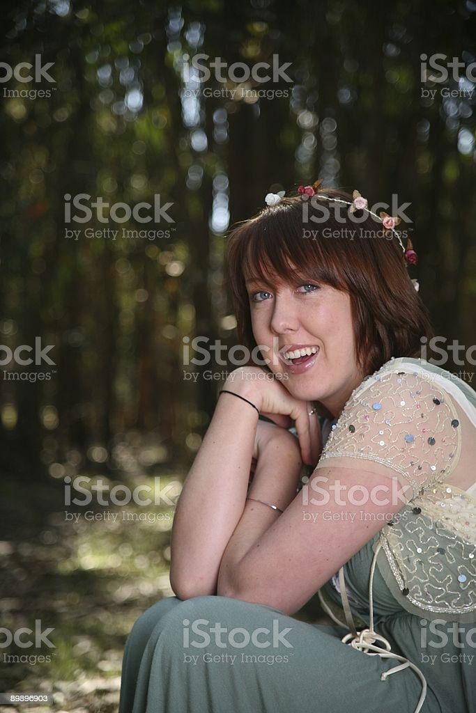 forest portrait royalty-free stock photo