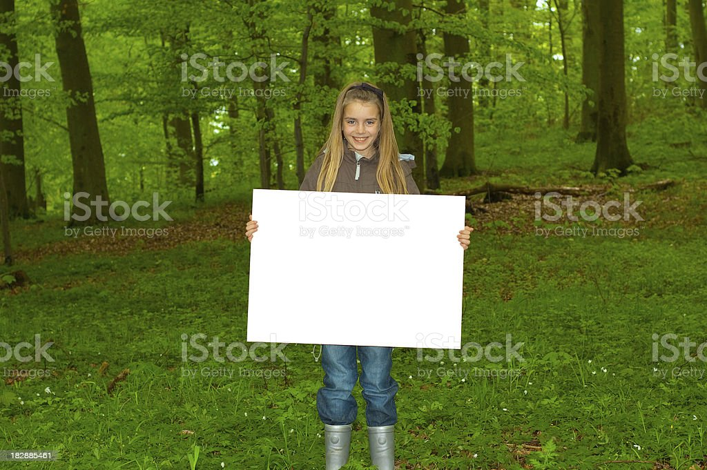 forest sign royalty-free stock photo