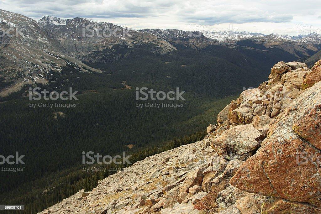 Tal, Colorado Lizenzfreies stock-foto