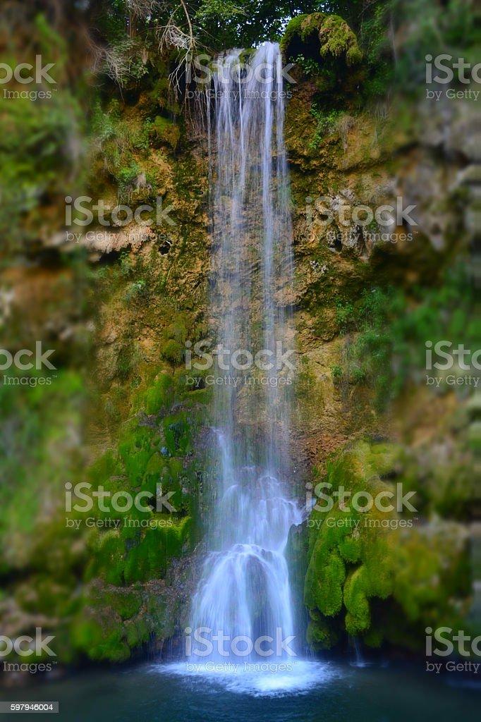 Cachoeira da floresta foto royalty-free