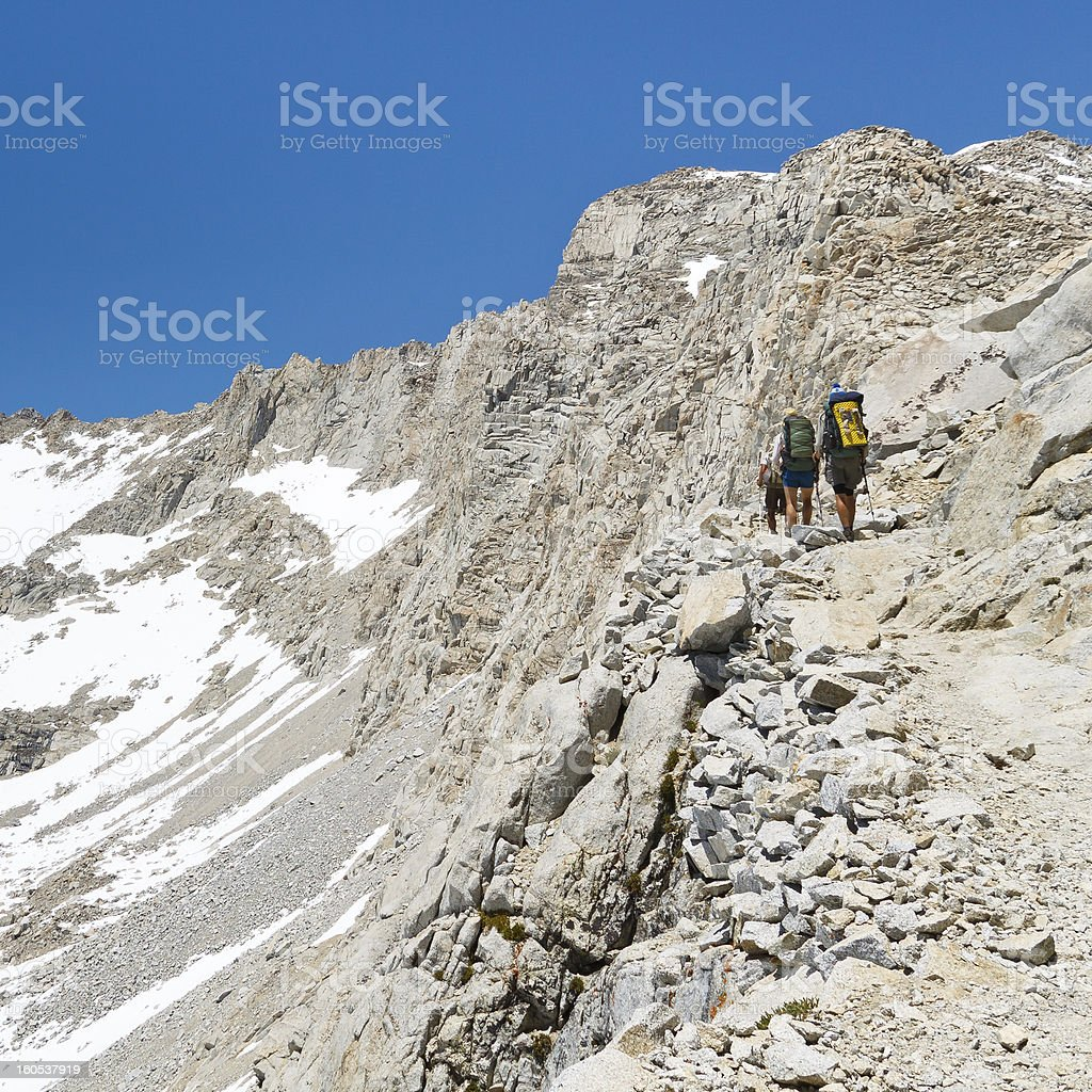 Forester Pass, Sierra Nevada stock photo
