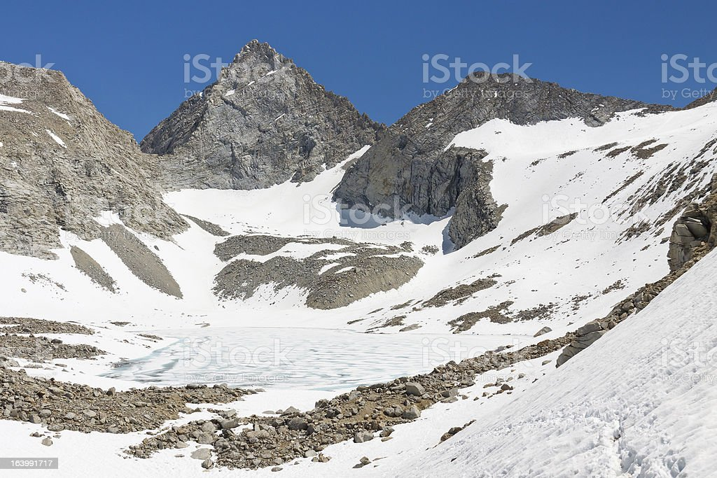 Forester Pass, Sierra Nevada royalty-free stock photo