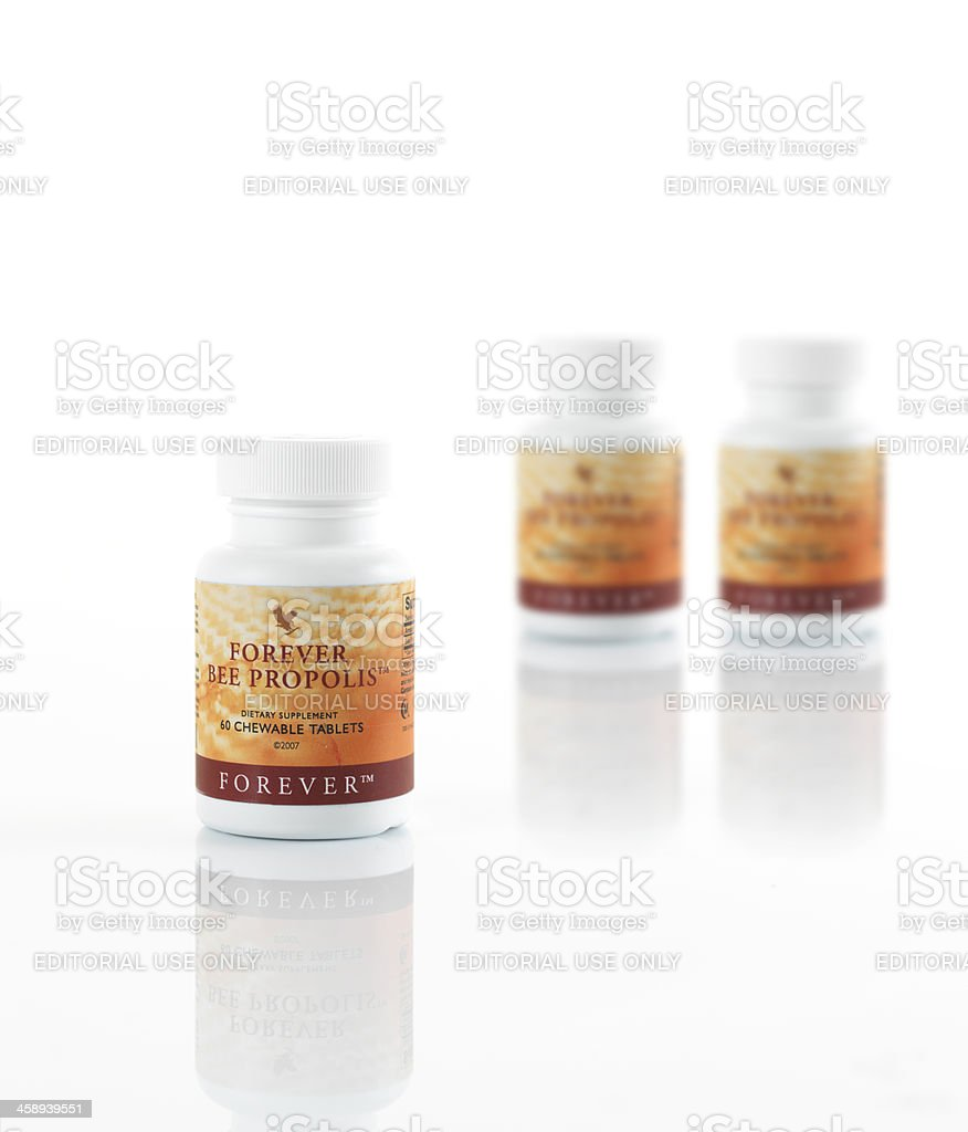 Forever Bee Propolis stock photo