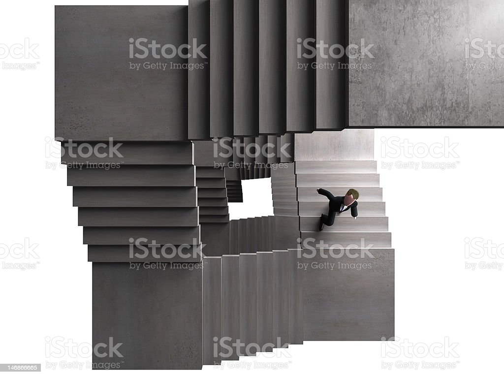 forever climbing royalty-free stock photo