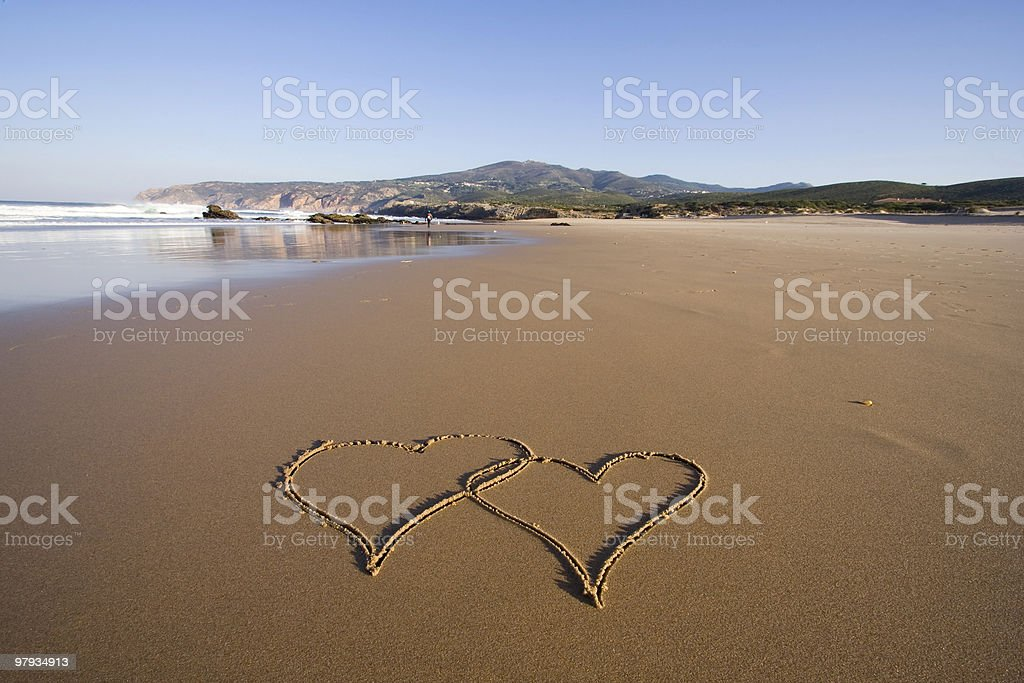 Forever love royalty-free stock photo