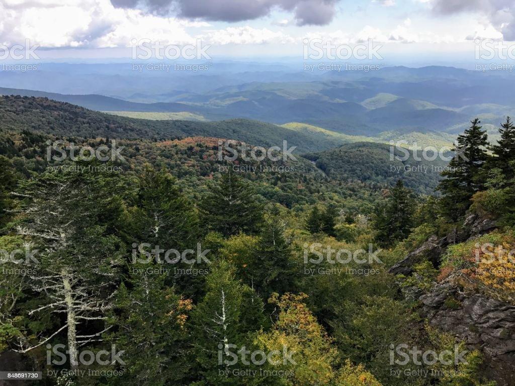 Forever Mountain Views stock photo