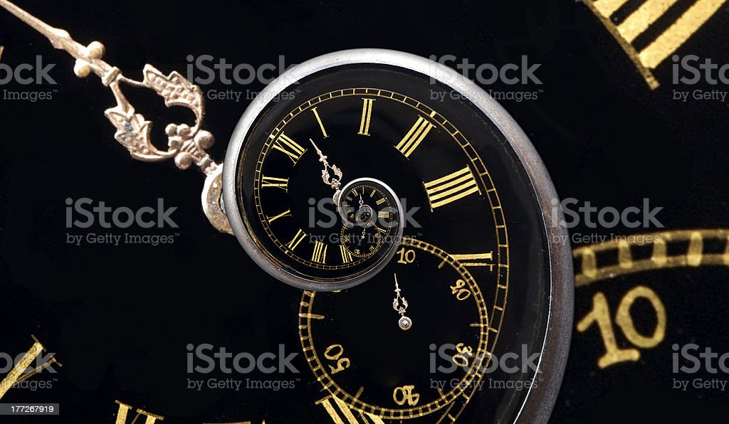 Forever time stock photo