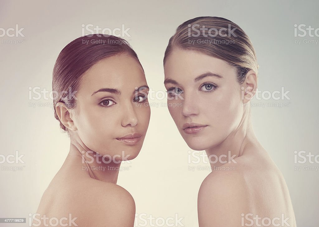 Forever young and beautiful stock photo