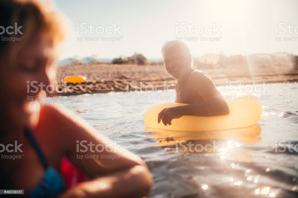 Forever young! stock photo