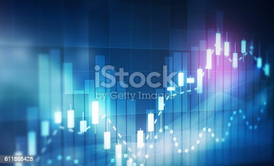611868428 istock photo forex trading background 611868428