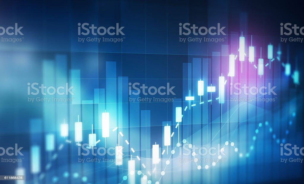 forex trading background bildbanksfoto